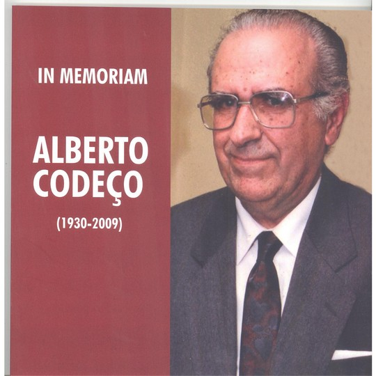 Alberto Codeço – in memoriam